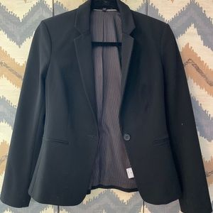 Express Black fitted blazer